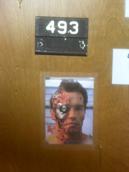 Terminator peephole